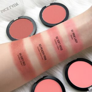 Face Blusher Powder Makeup Matte Blush Natural Peach Cosmetic