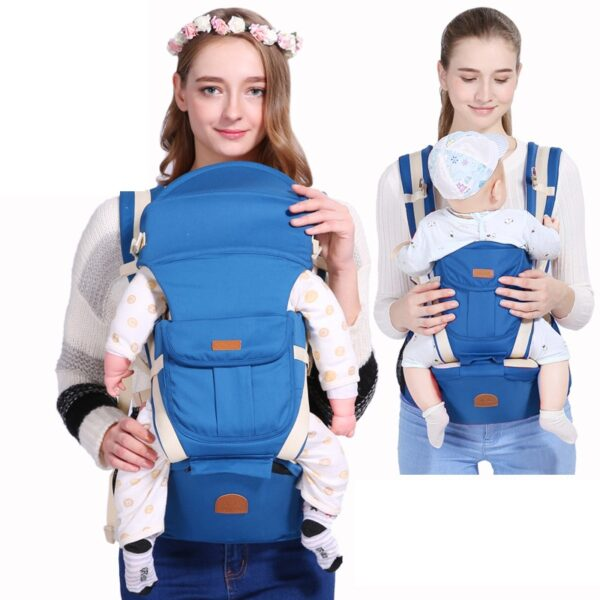Baby Carrier Infant Hip Seat 3 In 1 Front Facing Baby Wrap Sling