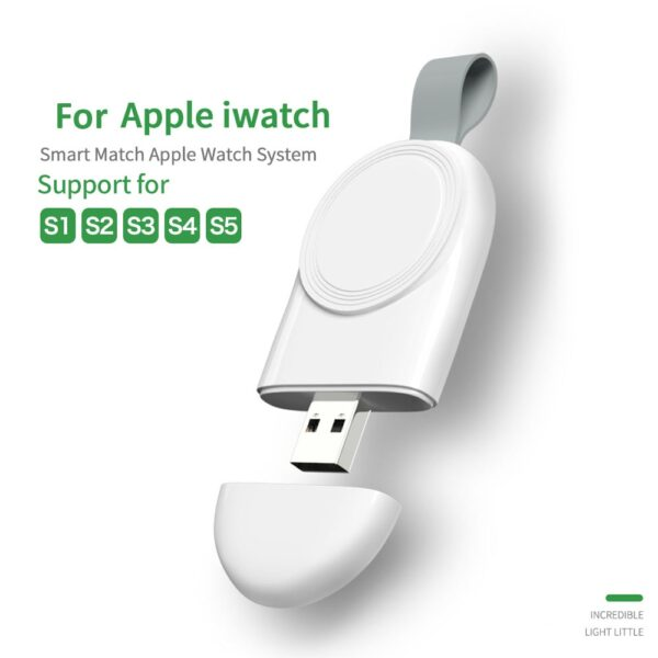 Mini Portable Wireless Charger for Apple iWatch Smart Watch