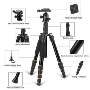 Aluminum Protable Camera Mobile Phone holder Tripod