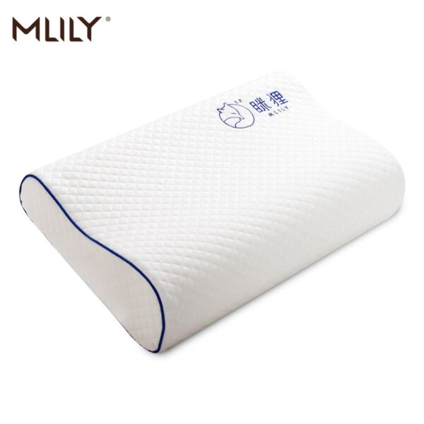 Mlily Memory Foam Bed Orthopedic Pillow For Neck Pain Sleeping
