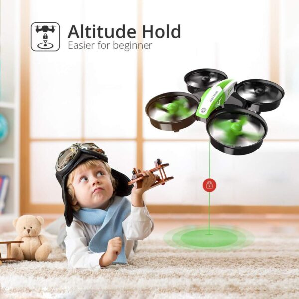 Holy Stone Drone Camera One Key Take Off/Land RC Helicopter For Kids