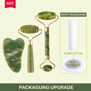 Massager For Face Jade Roller Facial Skin Care Tools Scraper Body