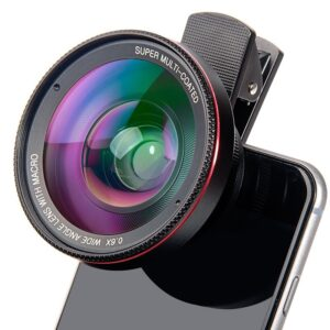 4K HD Super 15X Macro Lens For Smartphone Optical Glass Phone Camera