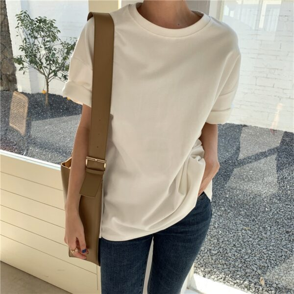 New Autumn Winter Women 6 Colors T-shirt Casual Long Sleeve