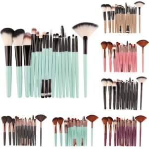 18Pcs Makeup Brushes Tool Set Cosmetic Powder Eye Shadow Foundation Blush Blending Beauty Make Up Brush Maquiagem Cosmetic Tool
