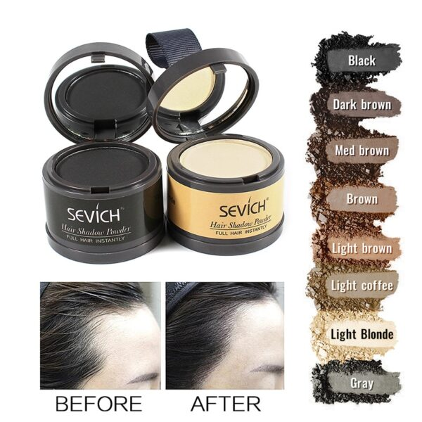 Water Proof Hair Line Powder Color Shadow Concealer Root Cover Up