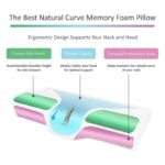 Orthopedic Pillow For Neck Pain Protection Slow Rebound Memory Foam