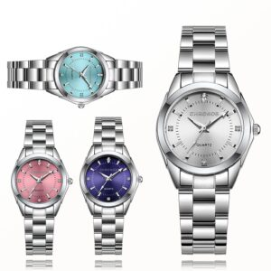 Women Luxury Stainless Steel Watches Ladies Business Watch