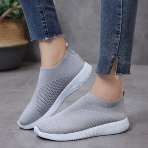 Breathable Mesh Platform Sneakers Women Soft Ladies Casual Shoes