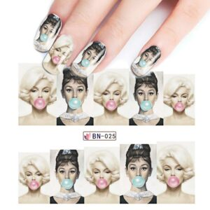 1Pcs Water Transfer Nail Sticker Tattoo Slider Art Beauty Women