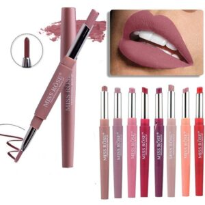 20 Color Matte Lipstick Lip Liner 2 in 1 Brand Makeup Lipstick Cosmetics