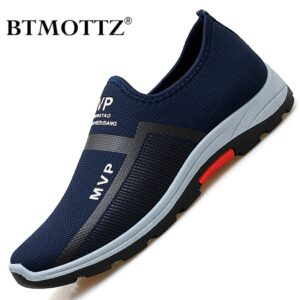 Summer Mesh Men Shoes Lightweight Sneakers Casual Walking Shoe