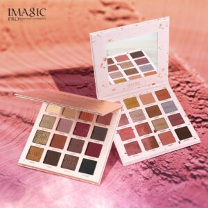 Women Eyeshadow 16 Color Palette Makeup Matte Shimmer Powder