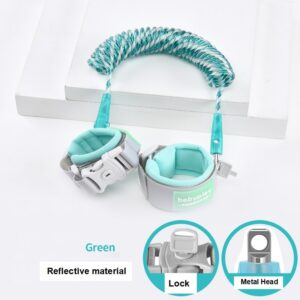 Baby Harness Anti Lost Wrist Link Kids Outdoor Walking Hand Belt Band Child Wristband Toddler Leash Safety Harness Strap Rope 2