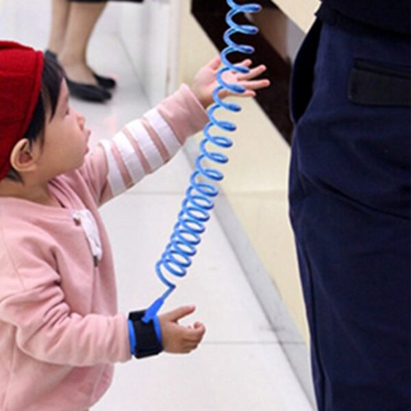 Toddler Baby Kids Safety Harness Cut Continuously Child Leash Anti Lost Wrist Link Traction Rope 2020 New hot 2