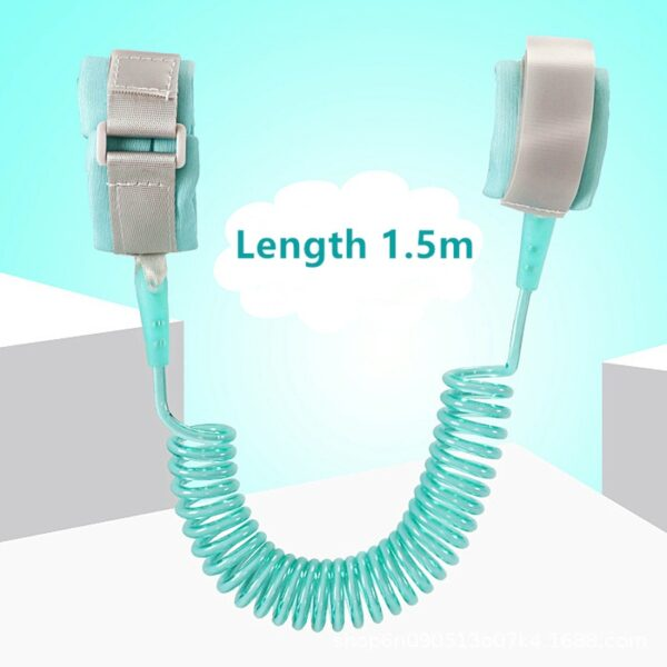 Child Safety Harness Leash Anti Lost Adjustable Wrist Link Traction Rope Wristband Belt Baby Kids for Toddler Butterfly 3