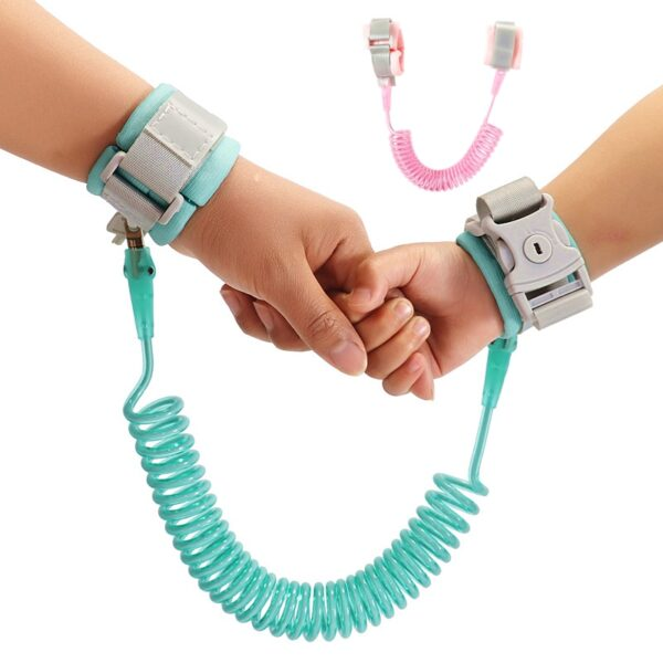 Child Safety Harness Leash Anti Lost Adjustable Wrist Link Traction Rope Wristband Belt Baby Kids for Toddler Butterfly