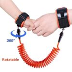 1.5-2.5m Kids Safety Harness Adjustable Children Leash Anti-lost Wrist Link Traction Rope Baby Walker Wristband 4