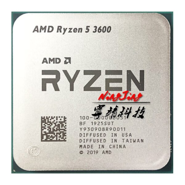AMD Ryzen 5 3600 R5 3600 CPU + GIGABYTE GA B450M GAMING Motherboard + Pumeitou DDR4 2666MHz RAMs Suit Socket AM4  Without cooler 2