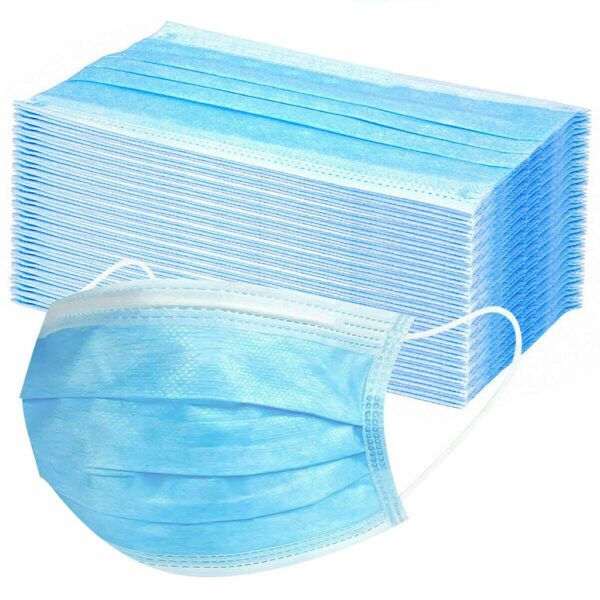 10/200/600 PC Disposable Face Mask Industrial 3Ply Ear Loop Reusable Mouth Cover Fashion Fabric Masks face cover mascarilla Use 4