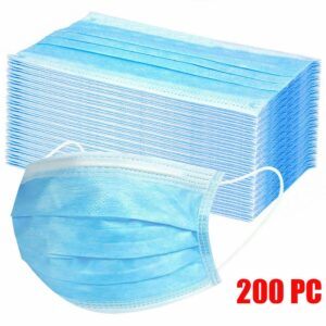 10/200/600 PC Disposable Face Mask Industrial 3Ply Ear Loop Reusable Mouth Cover Fashion Fabric Masks face cover mascarilla Use