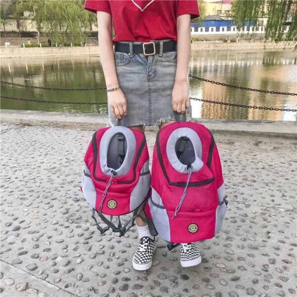 Pet Carriers Bags Carrying for Small Cats Dogs Oxford Backpack Dog Transport Bag Bolso Perro Torba Dla Psa Honden Tassen D1938 3