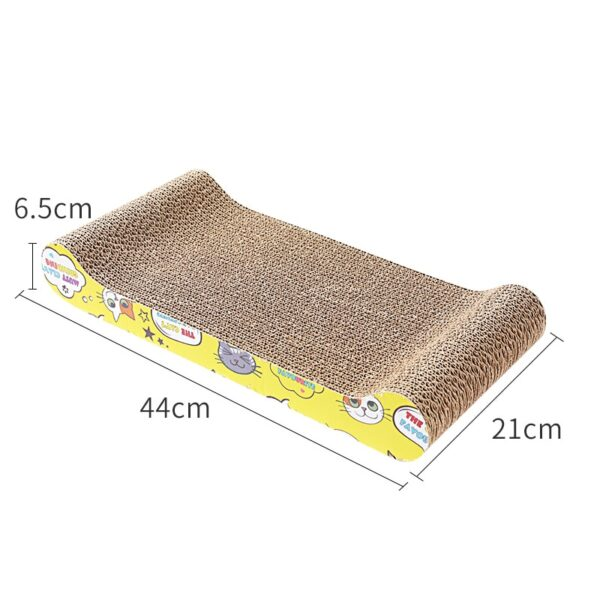 KIMPETS Cat Toys Cat Scratching Board Claw Grinder Corrugated Paper Cat Supplies Wear-resistant Scratcher 5