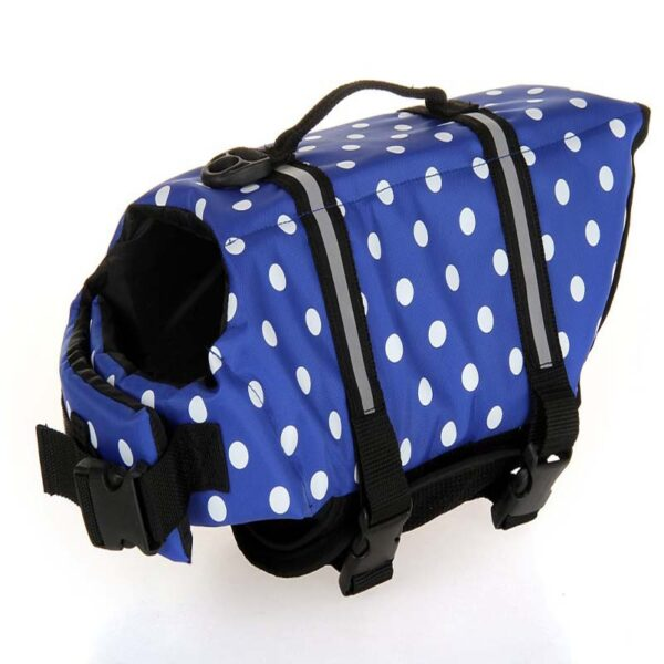 Dog Life Vest Summer Printed Pet Life Jacket Dog Safety Clothes Dogs Swimwear Pets Safety Swimming Suit Chaleco Salvavidas 2